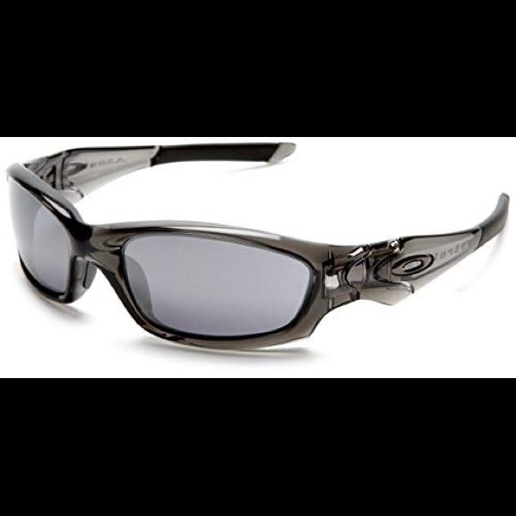 11035aeaf5 Oakley Men s Straight Jacket Iridium Sunglasses